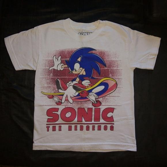 Sonic The Hedgehog Tops Tshirt Poshmark